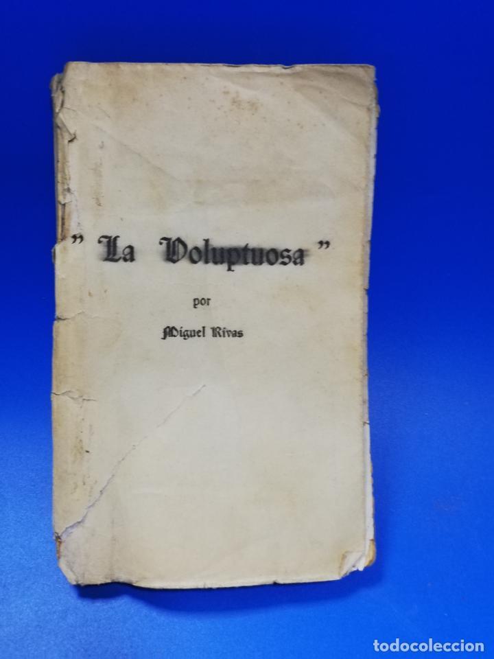 Libros antiguos: LA VOLUPTUOSA. MIGUEL RIVAS. BIBLIOTECA EROTICA. ANTONIO BAEZA. 1913. PAGS. 205. - Foto 2 - 284702658