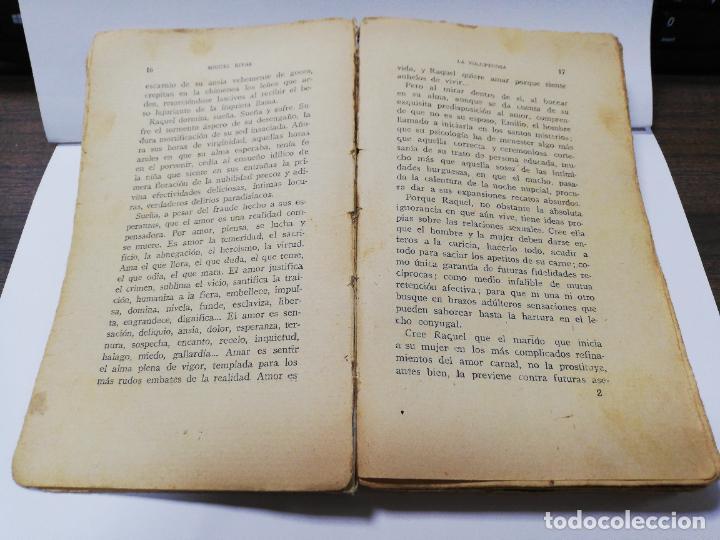 Libros antiguos: LA VOLUPTUOSA. MIGUEL RIVAS. BIBLIOTECA EROTICA. ANTONIO BAEZA. 1913. PAGS. 205. - Foto 4 - 284702658