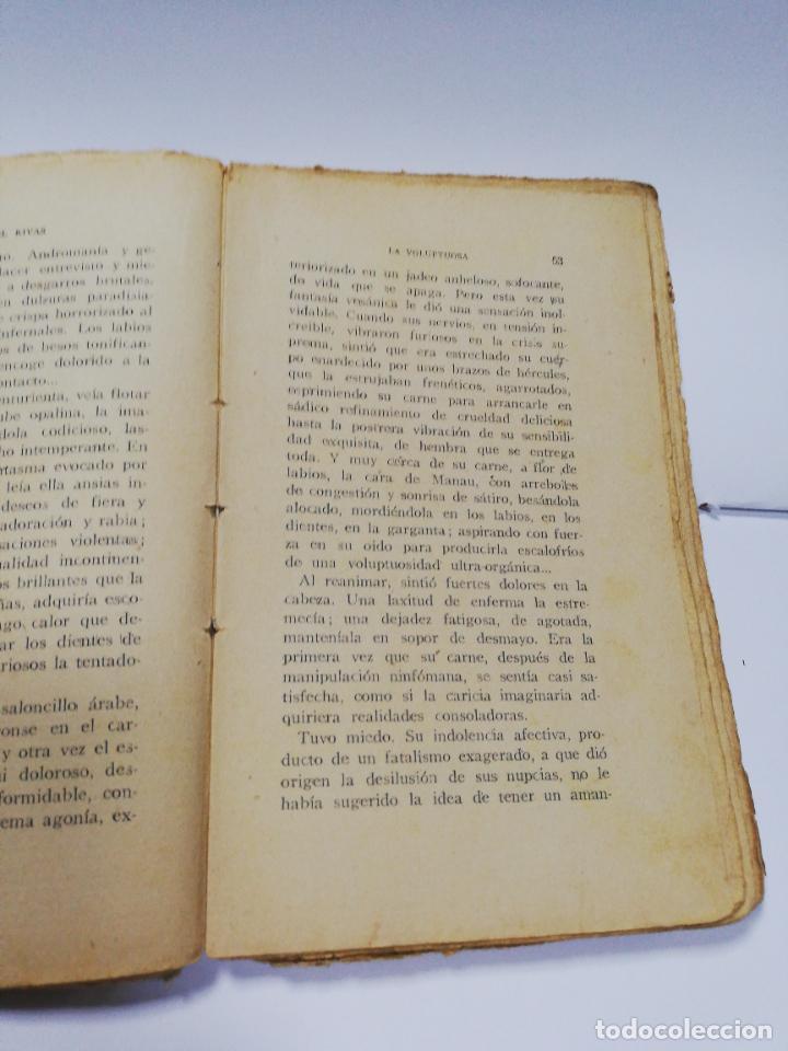 Libros antiguos: LA VOLUPTUOSA. MIGUEL RIVAS. BIBLIOTECA EROTICA. ANTONIO BAEZA. 1913. PAGS. 205. - Foto 5 - 284702658