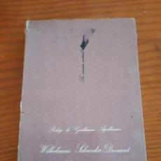 Libros antiguos: LIBRO MEMORIAS DE UNA CANTANTE ALEMANA. Lote 287495458