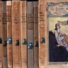 Libros antiguos: ANDRÉS GUILMAIN : EL JARDÍN DEL PECADO - 11 TOMOS (CARO RAGGIO, 1921). Lote 289603543