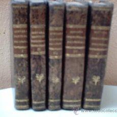 Libros antiguos: ELEMENTARIUM PHILOSOPHIAE (ELEMENTOS DE FILOSOFÍA, EDICIÓN LATINA DE 1.825). 5 TOMOS.. Lote 14284853