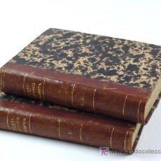 Libros antiguos: JAIME BALMES, FILOSOFÍA FUNDAMENTAL. 1868 4ª ED. 4 TOMOS EN 2 VOLÚMENES. . Lote 22597374