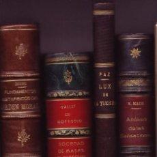 Libros antiguos: LUZ EN LA TIERRA. ABDÓN DE PAZ. Lote 27345408