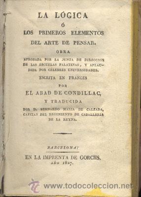 Libros antiguos: LA LÓGICA – AÑO 1827 - Foto 2 - 26599162