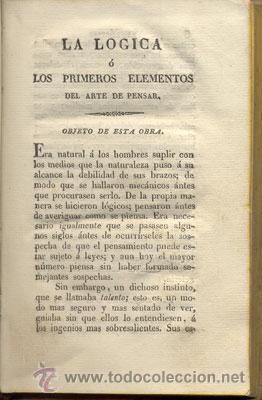 Libros antiguos: LA LÓGICA – AÑO 1827 - Foto 4 - 26599162