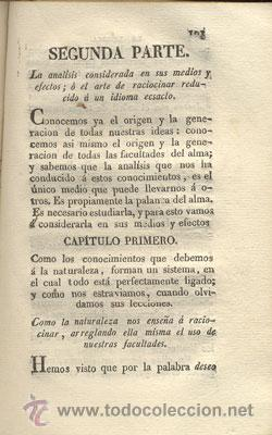 Libros antiguos: LA LÓGICA – AÑO 1827 - Foto 5 - 26599162