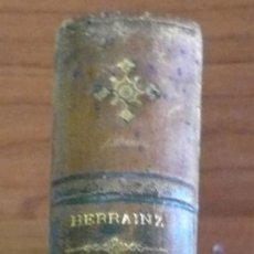 Libros antiguos: TRATADO DE ANTROPOLOGÍA Y PEDAGOGÍA. HERRAINZ, GREGORIO. 1896.. Lote 29834584
