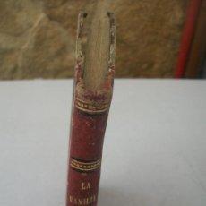 Libros antiguos: LA FAMILIA, LECCIONES DE FILOSOFÍA MORAL-PABLO JANET-1874-VALENCIA.- IMPRENTA DE: EL MERCANTIL-. Lote 28707399