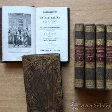 Libros antiguos: REFLEXIONES SOBRE LA NATURALEZA. STURM (M.). Lote 28749355