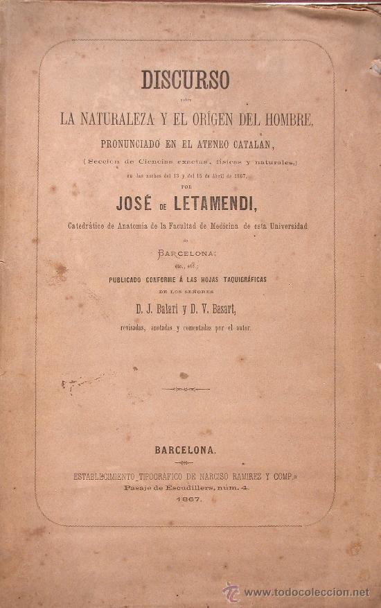 discurso sobre la naturaleza y el origen del ho - Comprar Libros ...