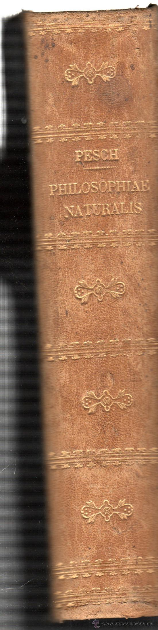 Libros antiguos: PHILOSOPHIAE NATURALIS SECUNDUM PRINCIPIA THOMAE AQUINATIS,FRIBURGI BRISGOVIAE SUMPTIBUS HERDER,1880 - Foto 3 - 30010997