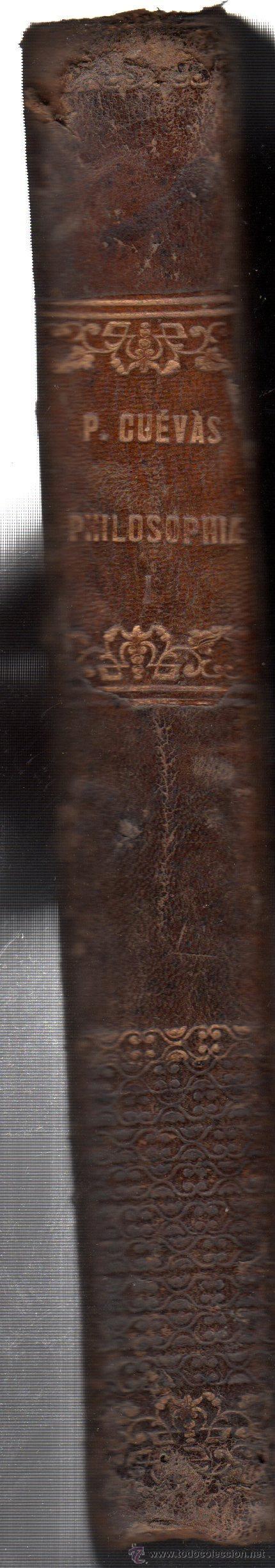 Libros antiguos: PHILOSOPHIAE, JOSEPH FERNÁNDEZ CUEVAS, TOMO 1, LÓGICA, ONTOLOGÍA Y COSMOLOGÍA, MADRID 1861 - Foto 2 - 30051504