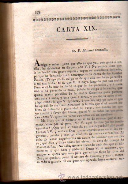 Libros antiguos: CARTAS FILOSÓFICAS DE ARISTÓTELES, POR FRANCISCO ALVARADO, EL FILÓSOFO RANCIO, TOMO V, AGUADO 1825 - Foto 2 - 30673478