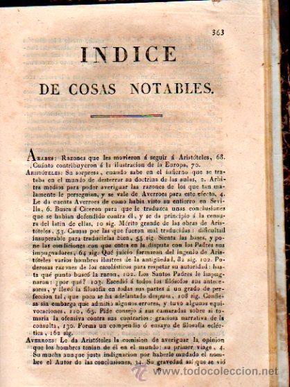 Libros antiguos: CARTAS FILOSÓFICAS DE ARISTÓTELES, POR FRANCISCO ALVARADO, EL FILÓSOFO RANCIO, TOMO V, AGUADO 1825 - Foto 6 - 30673478