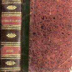Libros antiguos: FILOSOFÍA FUNDAMENTAL – AÑO 1866. Lote 31653349