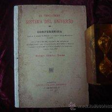 Libros antiguos: EL VERDADERO SISTEMA DEL UNIVERSO.E. SANCHEZ TORRES. 1904.. Lote 32351648