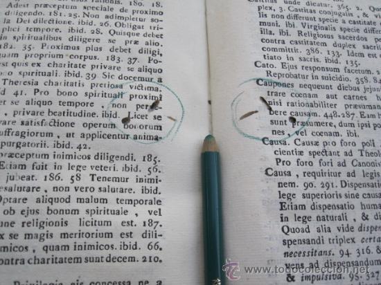 Libros antiguos: Compendium Salmanticense - Pamplona Pompelonae apud Benedictum Cosculluela Joseph - 1791 TOMO I (2) - Foto 5 - 32712993