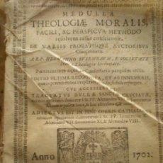 Libros antiguos: THEOLOGIA MORALIS 1702. Lote 34254072
