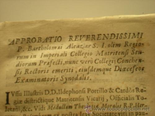Libros antiguos: THEOLOGIA MORALIS 1702 - Foto 2 - 34254072