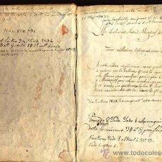 Libros antiguos: DOS LIBROS DEL MISMO AUTOR DE 1817 MANUSCRITOS EN PERGAMINO, FILOSOFIA, LOGICA Y METAFÍSICA. Lote 35562951
