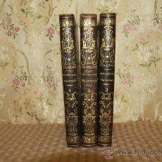 Libros antiguos: 2656- INSTITUTIONES PHILOSOPHICAE. MATTHEI LIBERATORE. EDIT. J. SUBIRANA 1867. 3 VOL. . Lote 40421034