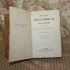Libros antiguos: 2669- INSTITUTIONES PHILOSOPHICAE. MATTHEI LIBERATORE. EDIT. J. SUBIRANA. 1873. TOMO 3.. Lote 36104900