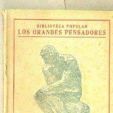Libros antiguos: BENOT : TEMAS VARIOS (ESCUELA MODERNA, 1920). Lote 36334114