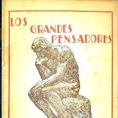Libros antiguos: POMPEYO GENER : FILOSOFEMAS (ESCUELA MODERNA, C. 1920). Lote 36334127