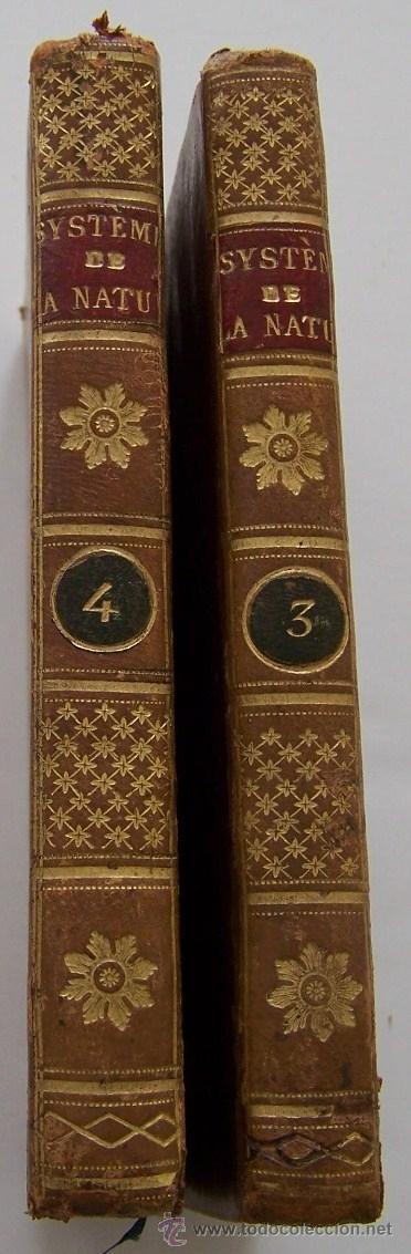 Libros antiguos: SYSTEME DE LA NATURE 1780 Holbach Lois du monde physique et du monde moral 2 volumenes - Foto 2 - 36966535