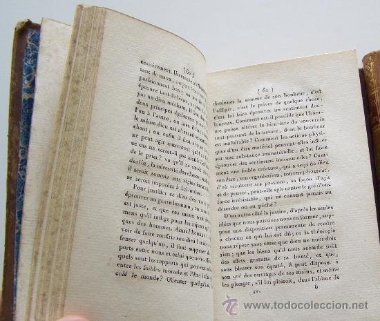 Libros antiguos: SYSTEME DE LA NATURE 1780 Holbach Lois du monde physique et du monde moral 2 volumenes - Foto 4 - 36966535