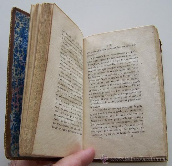 Libros antiguos: SYSTEME DE LA NATURE 1780 Holbach Lois du monde physique et du monde moral 2 volumenes - Foto 5 - 36966535