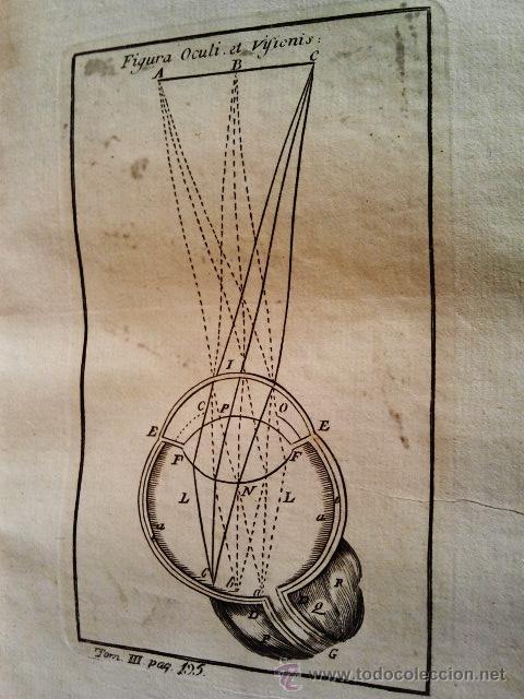 Libros antiguos: Philosophia Thomistica, Juxta inconcussa. Antonio Goudín. Tomo II-III-IV. Con Grabados. Madrid 1784. - Foto 5 - 38451888