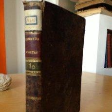 Libros antiguos: 1803.- CARTAS FISICO-MATEMATICAS DE TEODOSIO A EUGENIO. TEODORO ALMEUDA. TOMO 10. 7 LAMINAS DESPLEGA. Lote 38721623