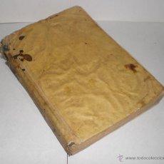 Libros antiguos: DIFERENCIA ENTRE LO TEMPORAL Y LO ETERNO Y CRISOL DE DESENGAÑOS. JUAN EUSEBIO NIEREMBERG - 1792. Lote 39854044