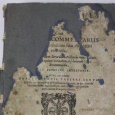 Libros antiguos: 5948- ARISTOTELIS DE ANIMA.LIBRI TRES. CUM AVERROIS COMENTARIIS, SOPHIANO-PASSERII, VENETIIS 1572. Lote 40970561