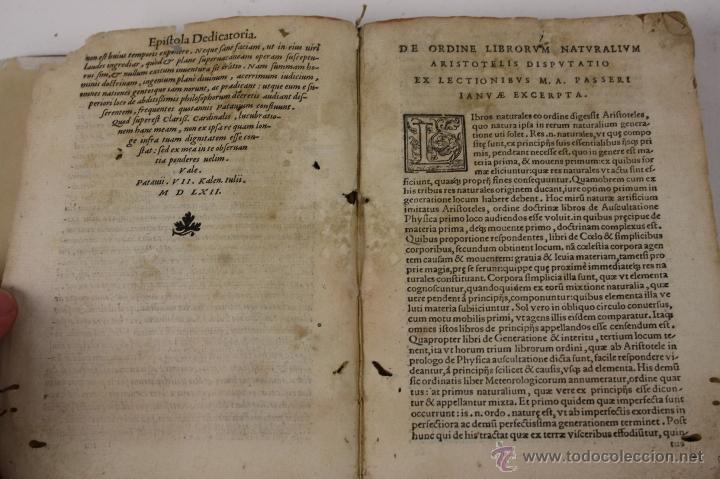 Libros antiguos: 5948- ARISTOTELIS DE ANIMA.LIBRI TRES. CUM AVERROIS COMENTARIIS, SOPHIANO-PASSERII, VENETIIS 1572 - Foto 4 - 40970561