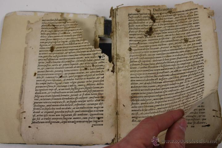 Libros antiguos: 5948- ARISTOTELIS DE ANIMA.LIBRI TRES. CUM AVERROIS COMENTARIIS, SOPHIANO-PASSERII, VENETIIS 1572 - Foto 6 - 40970561