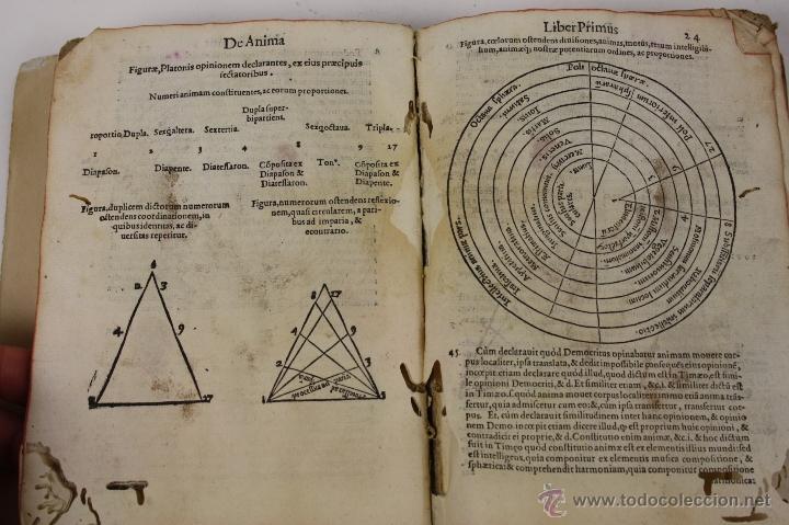 Libros antiguos: 5948- ARISTOTELIS DE ANIMA.LIBRI TRES. CUM AVERROIS COMENTARIIS, SOPHIANO-PASSERII, VENETIIS 1572 - Foto 8 - 40970561