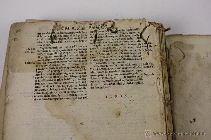 Libros antiguos: 5948- ARISTOTELIS DE ANIMA.LIBRI TRES. CUM AVERROIS COMENTARIIS, SOPHIANO-PASSERII, VENETIIS 1572 - Foto 10 - 40970561