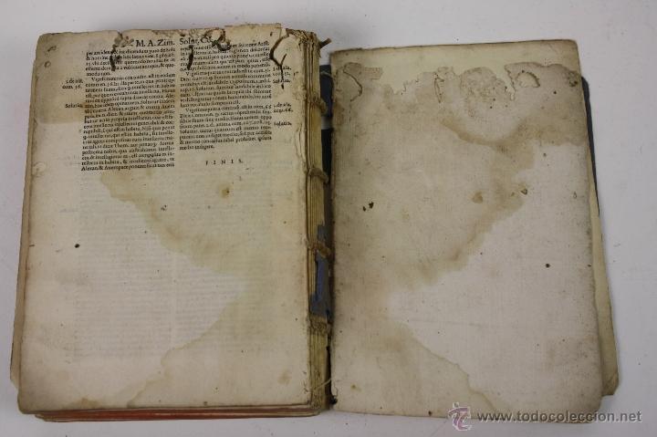 Libros antiguos: 5948- ARISTOTELIS DE ANIMA.LIBRI TRES. CUM AVERROIS COMENTARIIS, SOPHIANO-PASSERII, VENETIIS 1572 - Foto 11 - 40970561