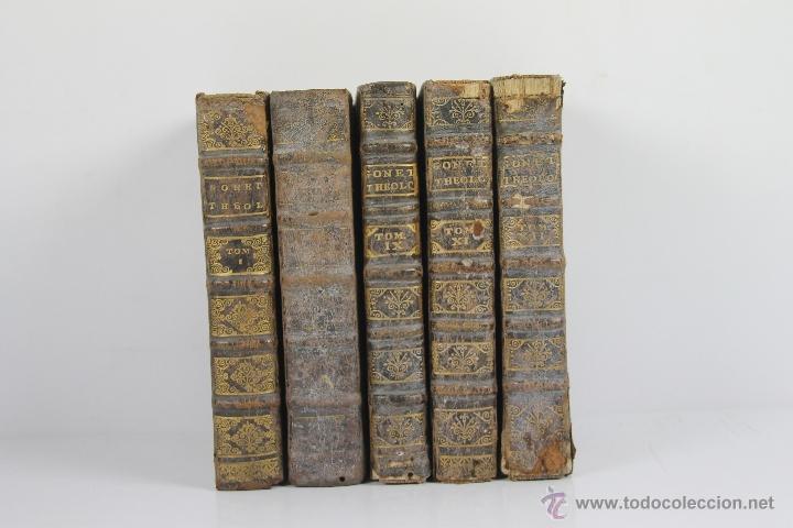 Libros antiguos: 4187- CLYPEUS THEOLOGIAE THOMISTICAE. JOANNE BAPTISTA GONET. EDIT. FRATRUM TOURNES 1739. 6 VOL. - Foto 3 - 40984949