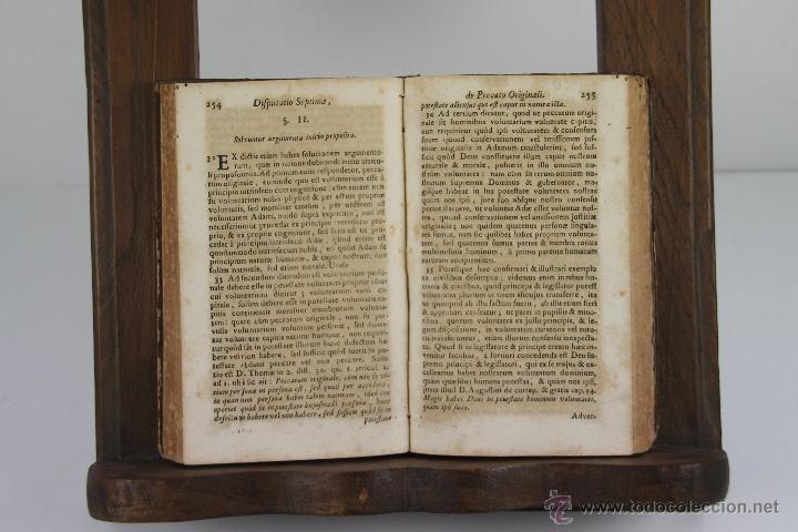 Libros antiguos: 4187- CLYPEUS THEOLOGIAE THOMISTICAE. JOANNE BAPTISTA GONET. EDIT. FRATRUM TOURNES 1739. 6 VOL. - Foto 5 - 40984949