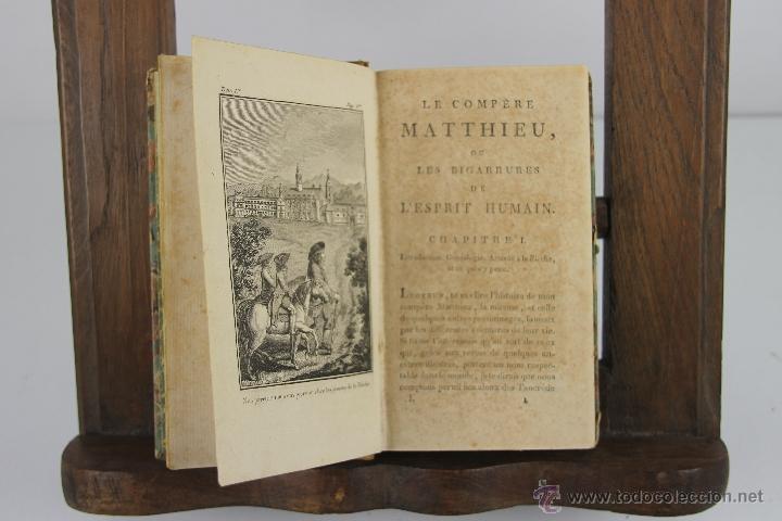 4192- LE COMPERE MATTHIEU. JOSEPH DU LAURENS. IMP. DE PATRIS. 1796. 3 VOL. (Libros Antiguos, Raros y Curiosos - Pensamiento - Filosofía)