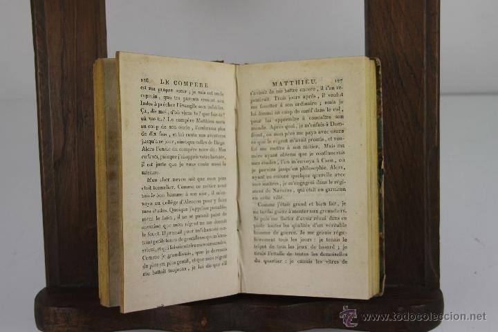 Libros antiguos: 4192- LE COMPERE MATTHIEU. JOSEPH DU LAURENS. IMP. DE PATRIS. 1796. 3 VOL. - Foto 2 - 40987138