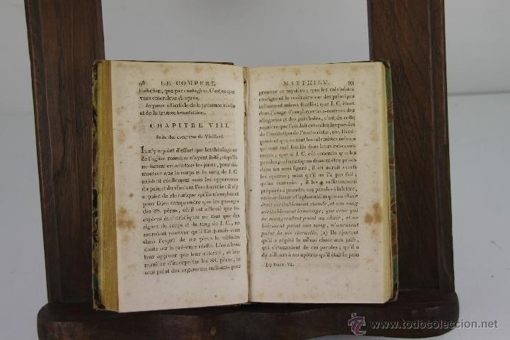 Libros antiguos: 4192- LE COMPERE MATTHIEU. JOSEPH DU LAURENS. IMP. DE PATRIS. 1796. 3 VOL. - Foto 3 - 40987138