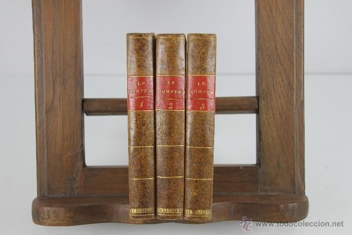 Libros antiguos: 4192- LE COMPERE MATTHIEU. JOSEPH DU LAURENS. IMP. DE PATRIS. 1796. 3 VOL. - Foto 5 - 40987138