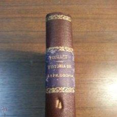 Libros antiguos: HISTORIA GENERAL DE LA FILOSOFIA. ALFREDO FOUILLEE. 1929. TOMO IV.. Lote 41848504