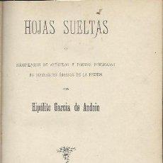 Libros antiguos: LA PLURALIDAD DE EXISTENCIAS DEL ALMA, NARRACIONES DE LA ETERNIDAD, GASPAR EDITORES MADRID 1880,LEER. Lote 42415465