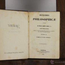 Libros antiguos: D-444. INSTITUTIONES PHILOSOPHICAE. MATHAEO LIBERATORE. EDIT. SUBIRANA. 1854.. Lote 43290407